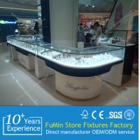 Quality Modern elegant lockable watch and jewelry showcase for store for sale