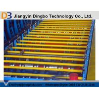 China Tile Roof Panel Roll Forming Machine with Pull Broach / PLC Control System Touch Screen on sale