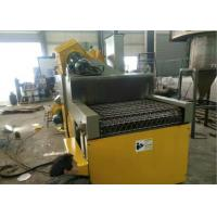 Quality Cleaning Dustless Blasting Equipment , Camshaft Wire Conveyor Shot Blasting Machine for sale