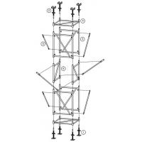 Quality Scaffold frame system. Simple installation. Convenient mobile. Good bearing for sale
