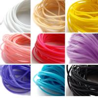 Quality Heat Resistant Silicone Rubber Cord High Elasticity High Strength With Long Lifespan for sale