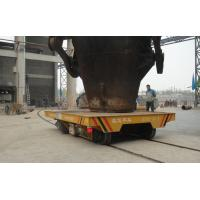 Quality Battery Powered Box Beam Structure Turning Transfer Bogie With SKF Bearing for sale