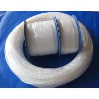 Buy Natural White Pure Extruded PTFE Teflon Tube For Wire And Cable Jacket at wholesale prices