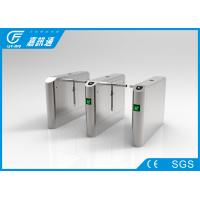 Quality Metros/ Bus Stations Drop Arm Turnstile Channels Width 550 - 660mm Relay Signal Input for sale