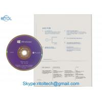 China MS Windows 10 Pro 64bit DVD OEM , Microsoft Windows 10 32 Bit Win 10 Pro OEM Key on sale
