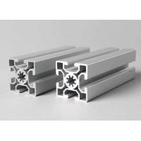 Quality T-slot aluminum extrusion profiles Steel Polished Suface Treatment / For Conveyor for sale