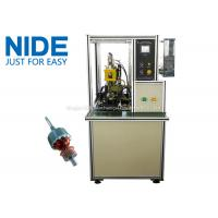 Buy Welding The Copper Wire Commutator Hook Fusing Machinery / Machinery For Mixer Motor at wholesale prices
