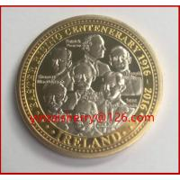 China Easter rising 1916 souvenir coin, custom challenge coin,silver coin replica for sale on sale