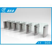 Quality Waist Height Retractable Flap Barrier , Public Security Flap Barrier System for sale