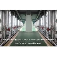 Quality High automation liquid syrup manufacturing plant glucose fructose syrup production equipment for sale