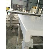 Buy Caesar 4600 Solid Stone Kitchen Worktops , Quartz Solid White Countertops at wholesale prices