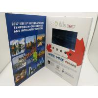 Quality Rechargeable Real Estate Video Brochure,digital video brochure,lcd video brochure with touch screen for sale