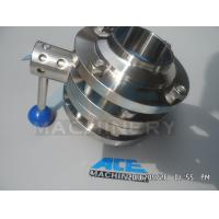 Quality Sanitary Stainless Steel Pulling Hanlde Butterfly Valve (ACE-DF-7T) for sale