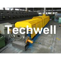 Quality 7.5Kw 20 Forming Station Custom Downpipe Roll Forming Machine For Rainwater Downpipe for sale