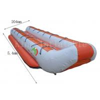Quality Customized Double Row Inflatable Banana Boats 5.4 *2.04 m 14 Seats for sale
