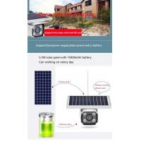 Buy Outdoor water-proof 1080P 4G LTE Wireless Solar powered HMD camera two ways at wholesale prices