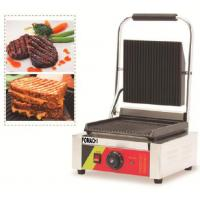Buy Electric Panini Griddle Counter Top Single Plate CE Approval Panini Griddle FMX-WE173B at wholesale prices