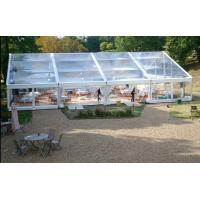 Buy 500 People Big Waterproof Transparent Polygon Event Tent With Clear Span at wholesale prices