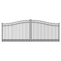 Quality Aluminum gate and fence Aluminum driveway gate door metal gate for sale
