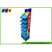 Quality POS Retail Six Shelf Corrugated Cardboard Displays , Fully Printing Retail Display Stands For Drawing Pens FL180 for sale