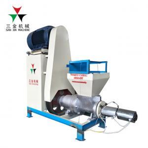 China 18.5kw Electric MotorExtruder Wood Briquette Machine Chips Briquettes Maker on sale