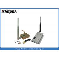 Quality 800mW Long Range FPV Wireless Video Transmitter 1.2Ghz With 8 Channels for sale