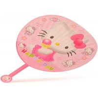 Buy cheap Personalized Small Plastic PP Hand Held Fans For Advertising Gift from wholesalers