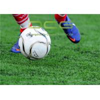 Quality PE Material Football Field Artificial Grass 50mm Pile Height 11000 Dtex for sale