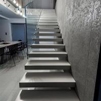 Quality Modern Floating stair / Glass Staircase / Build Floating Staircase for sale