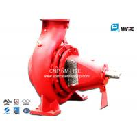 Quality 750GPM@180PSI End Suction Fire Pump Centrifugal Ductile Cast Iron Materials for sale