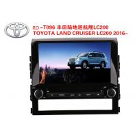 Buy cheap 9 Inch Car DVD Player GPS Navigation for TOYOTA LAND CRUISER LC200 2016- WINCE or Android System from wholesalers