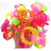 Buy Double Ring Stick Healthy Hard Candy Customized Color And Shape at wholesale prices