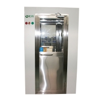 Quality Lacquering plate air locked room automatic air shower with Face recognition system for sale