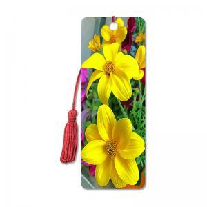 Quality Flower Design Souvenir 3D Lenticular Bookmark / 3D Lenticular Printing for sale