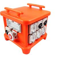 Quality EN60439 4 Portable Power Distribution Unit , UV8 Resistance Spider Electrical Box for sale