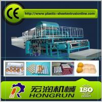 China Advanced techniques Egg Tray Machine , Rotary Type Pulp Molding Machine HR-2000~HR-8000 on sale
