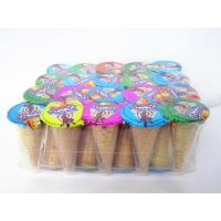 Buy cheap Chocolate jam with biscuit for dessert cup / crispy ice cream cone from wholesalers
