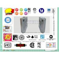 ID Card LED Double Direction Prompt Swing Turnstile Gate for Supermarket