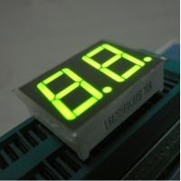 Buy cheap Green Two Digit Seven Segment Display Common Anode For Intrument Panel from wholesalers