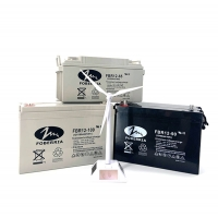 Quality Maintenance Free 12V Solar Lead Acid Battery 65AH To 250AH Long Life Rechargeable for sale
