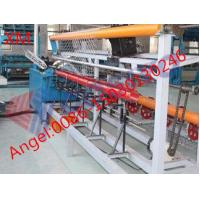 Quality 2m-4m width Fully-Automatic Chain Link Fence Machine with Factory Best Price for sale