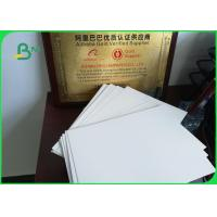 Buy cheap 210 - 350g C1S Single Side Coated Ivory Board Paper For Album / Calendar from wholesalers