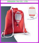 Quality Rugby drawstring backpack bag, Ball shape Drawstring backpack, Rugby drawstring bag for sale