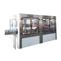 Quality Large Bottle Drinking Water Filling Machines 3- In - One Monoblock Bottling Machine for sale