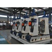Buy cheap Full Automatic Square Tube Mill Line ERW Pipe Making Machine 1-10m/min from wholesalers