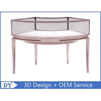 Buy Stainless Steel Frame Jewelry Display Cases , Jewellery Showroom Furniture at wholesale prices