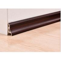 Quality Luxury Wooden White Plastic PVC Decorative Skirting Boards / Cover For Veranda for sale
