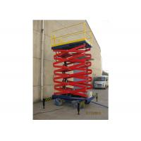 Quality Aluminum Alloy Mobile Aerial Work Platform 6m Max Height For Warehouses for sale