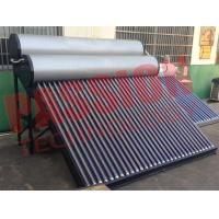 Quality Food Grade Vacuum Tube Solar Water Heater Portable With Painted Steel Shell for sale