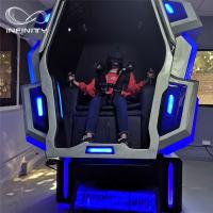 Quality Unique Cockpit King Kong VR Motion Simulator 2.2M*1.7M*2.25M 110V  4kw for sale